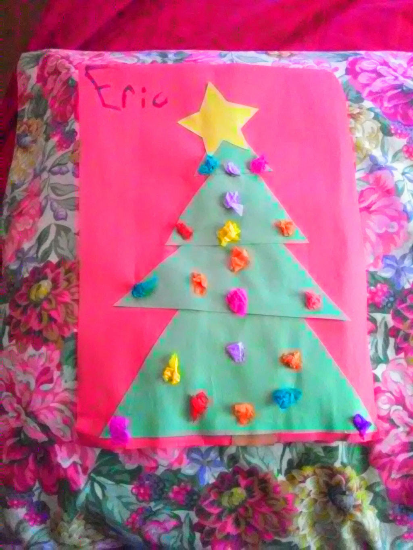 Eric's Christmas Tree by Ellecia
