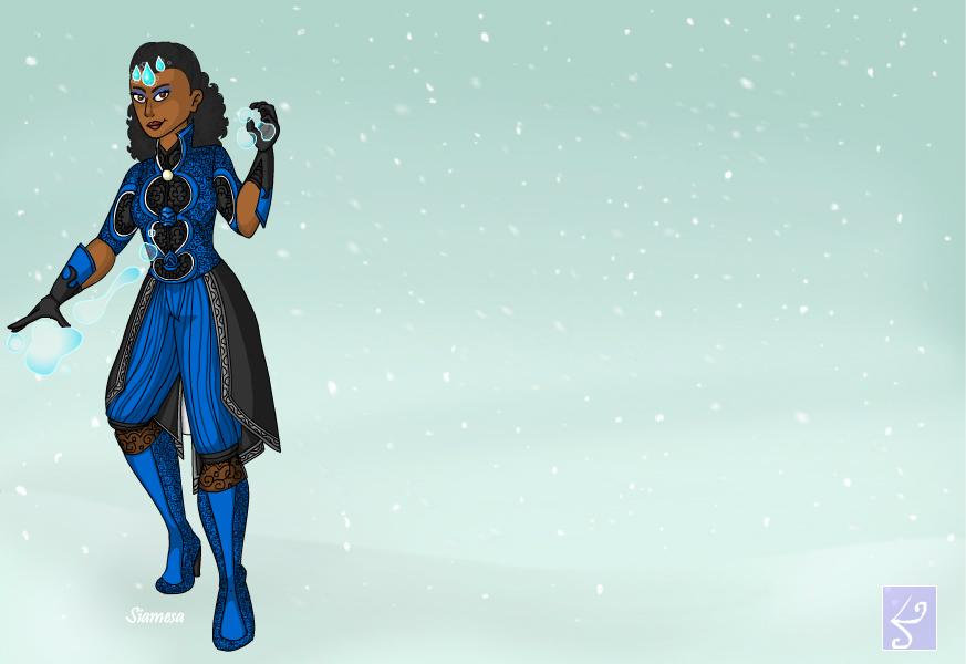 Ellecia As A Water Bender by Ellecia