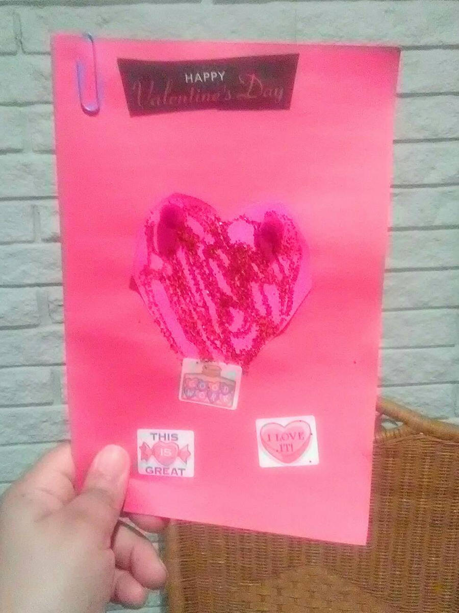 My Valentine's Card  by Ellecia