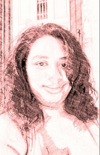 My Reddish Portrait  by Ellecia