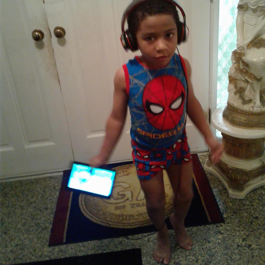 My Little Spider Man by Ellecia