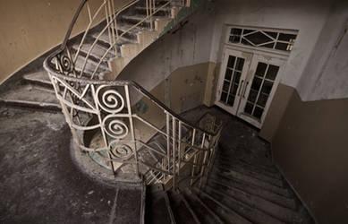 Stairs at Heilstatten H by AnneWillems