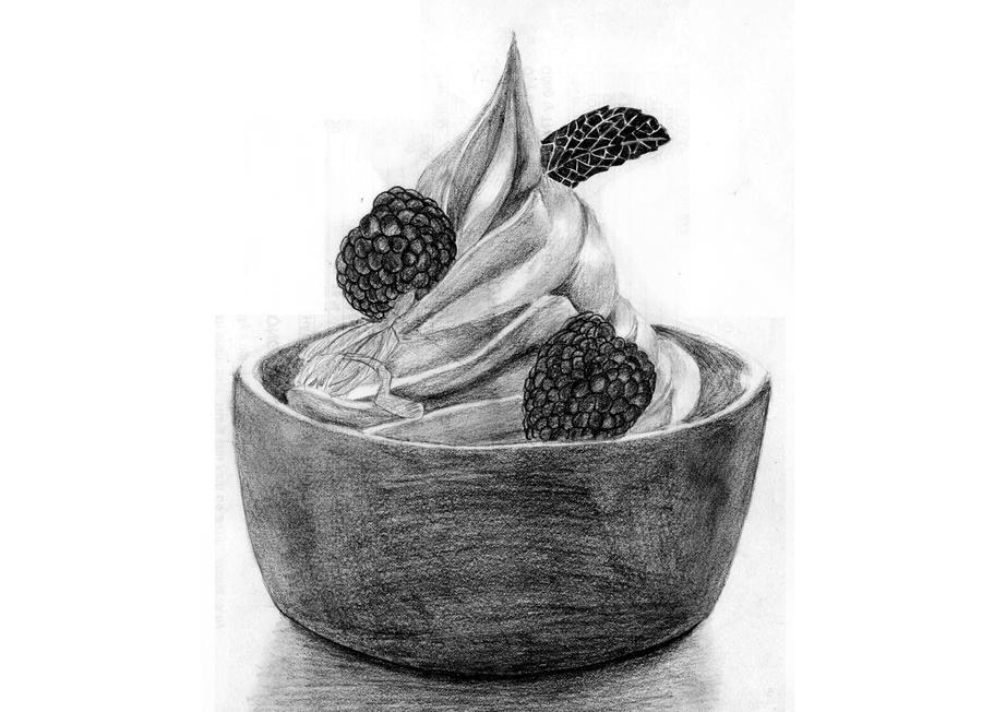 Frozen yogurt by HaruTokoshie on deviantART