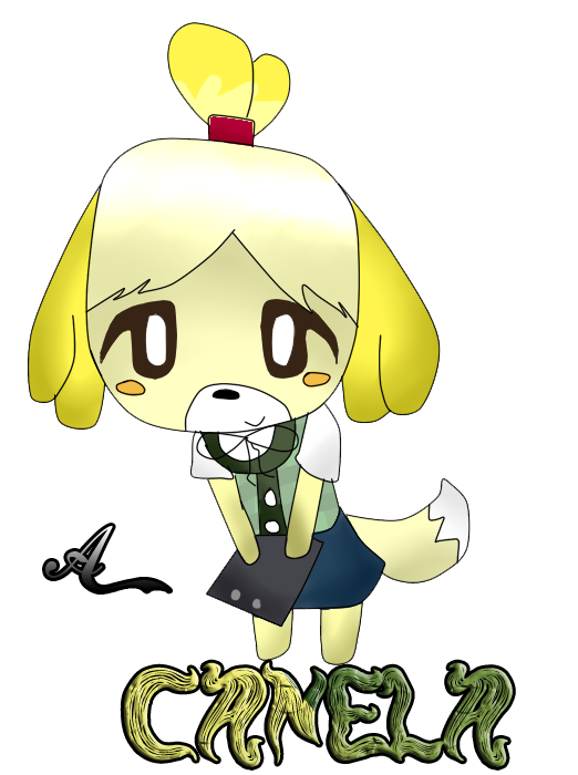 Canela (animal crossing new leaf)) by 677mara on DeviantArt