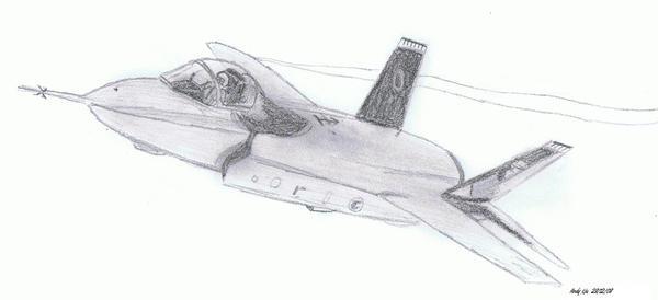 F-35 JSF by NDTwoFives