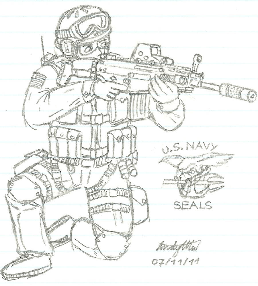 us navy seal team 6 by ndtwofives on deviantart