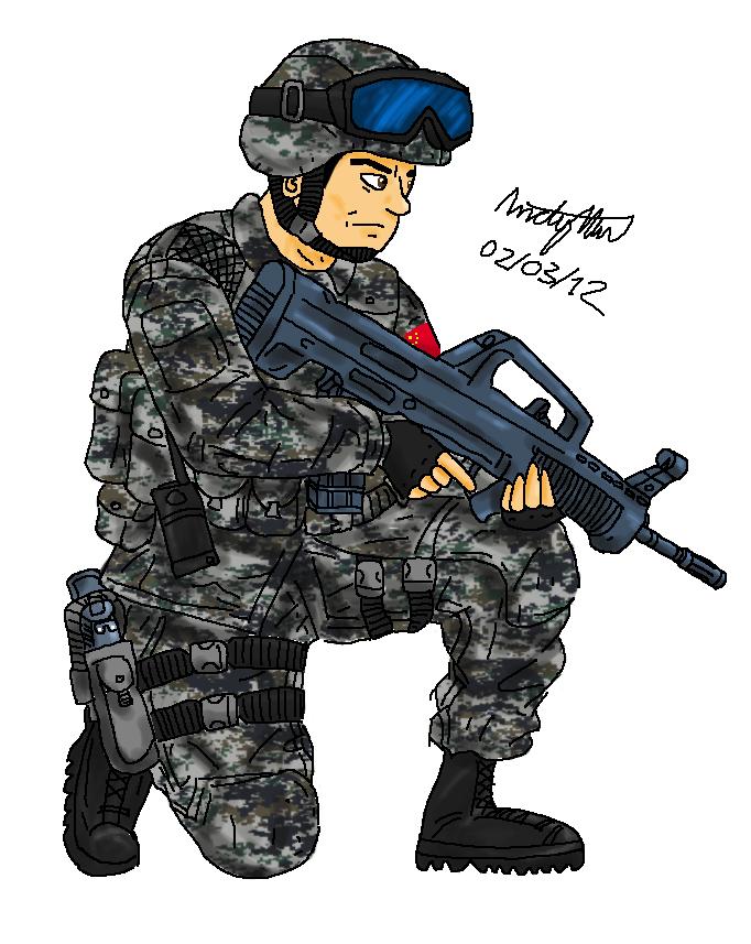 PLA Trooper by NDTwoFives