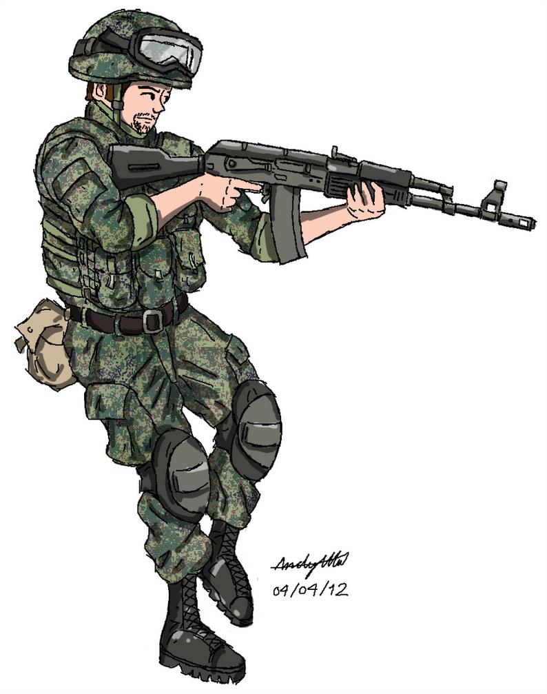modern russian soldier - 794×1007