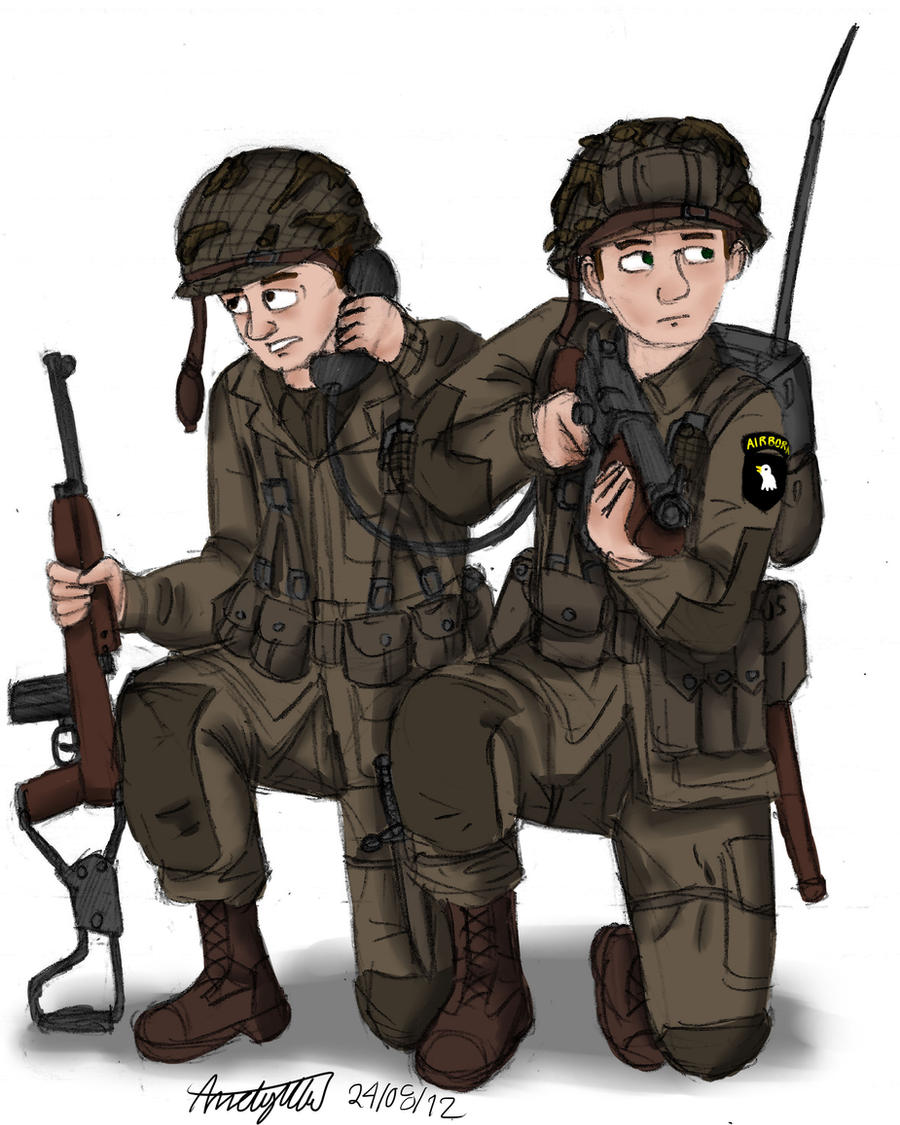Paratroopers by NDTwoFives