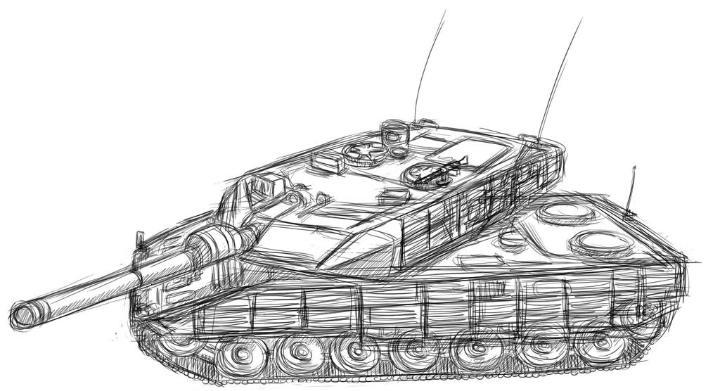 Leopard 2 2A6M CAN by ND-2500