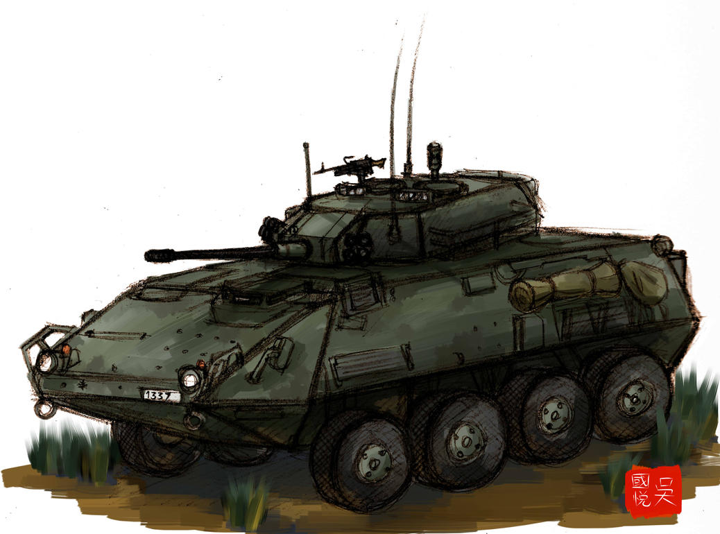 LAV III Practice by ND-2500