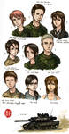 Character Roster 2013 + Bio
