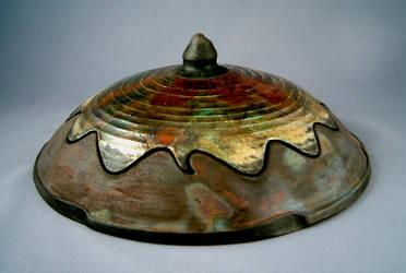 Raku, Lidded Dish by Nudessence