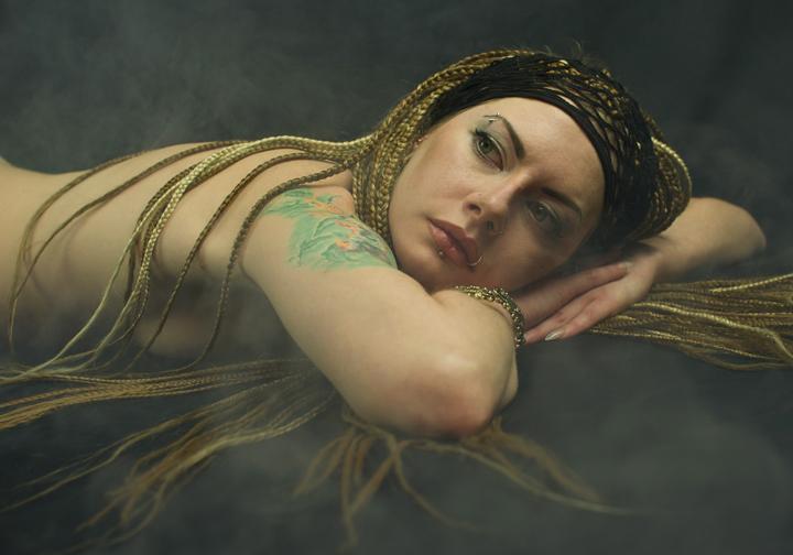 Kseniia at Rest by Nudessence