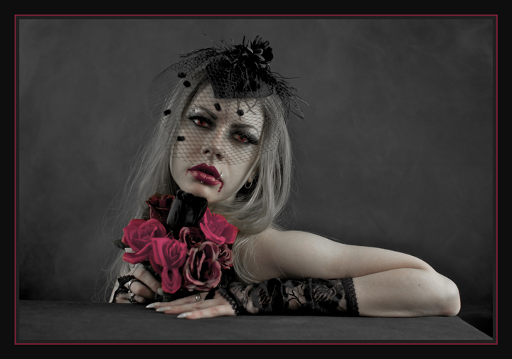 Bloodthirsty Kseniia. by Nudessence