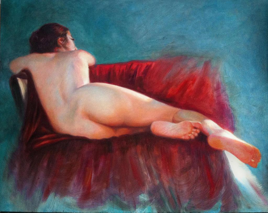 Nude study by juepaap