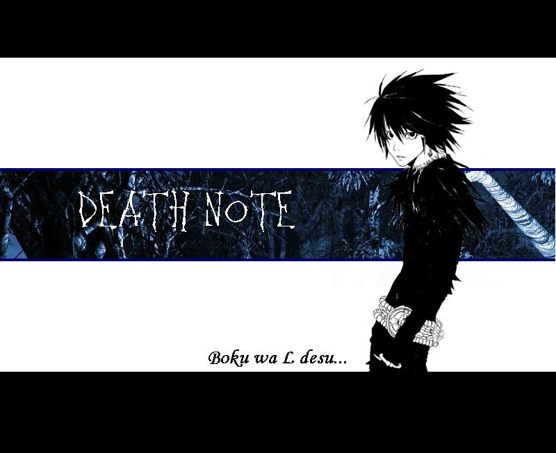 Get L Wallpaper Death Note