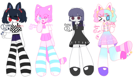 various aesthetic OTA adopts! (1/4 open) by ahdopts