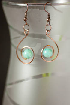 Copper Earrings