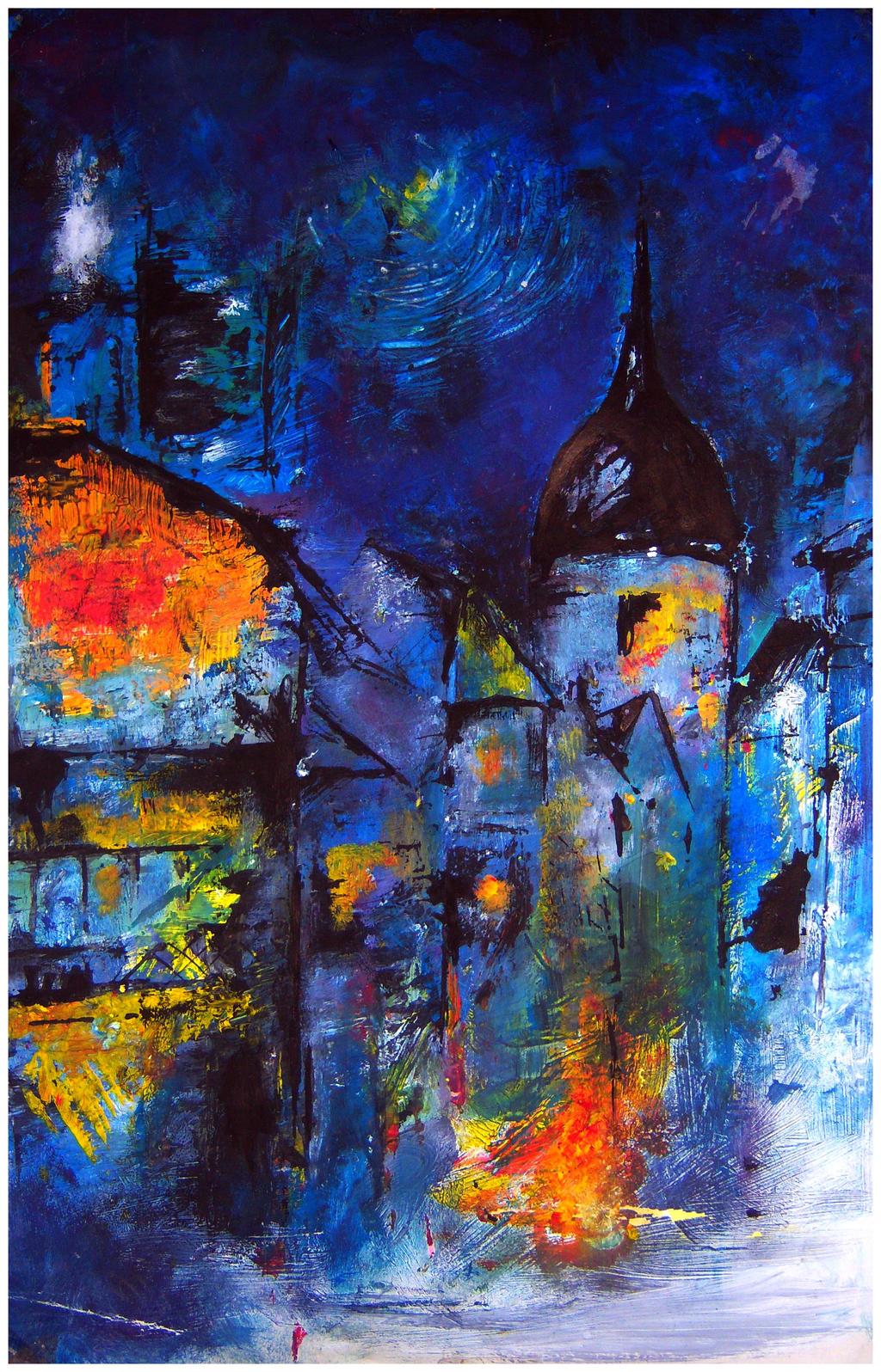 The Arsonist by Sevaresien