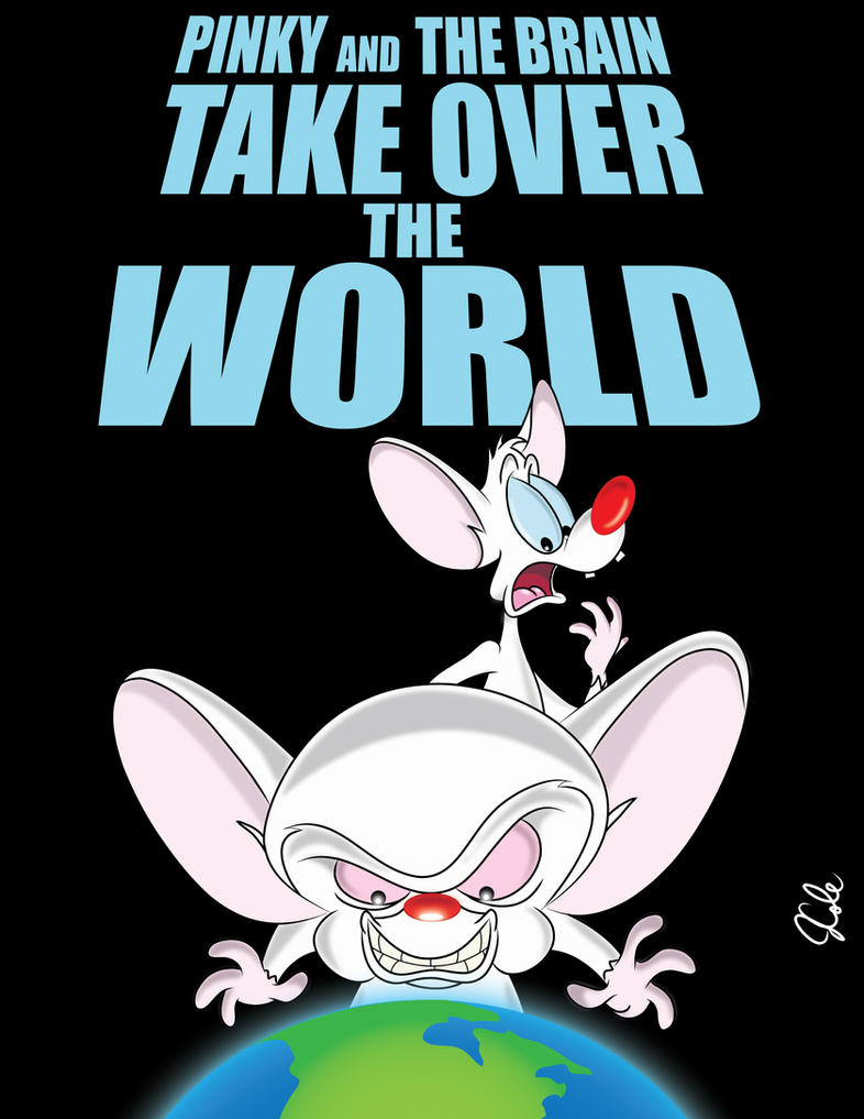 Pinky and the brain by jrwcole on deviantart pinky and the brain by jrwcole altavistaventures Choice Image
