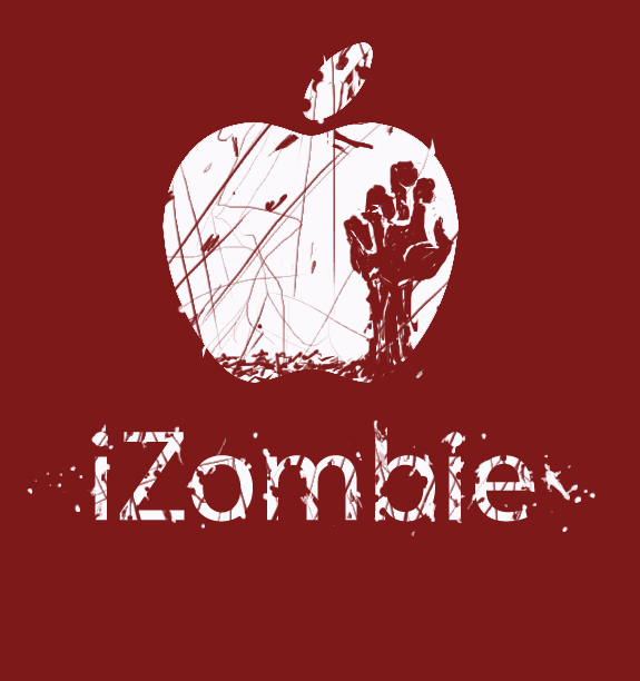 iZombie Parody Back Logo by EpoCALYPsE