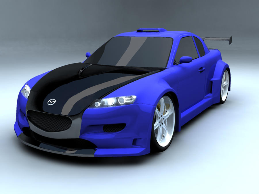 Update Mazda Rx8 Custom By Undrenic On Deviantart
