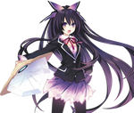 Tohka in School Uniform render
