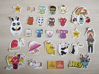 Stickers Collection by goenz