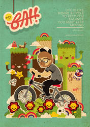 Mr.Bongo Cycling by goenz