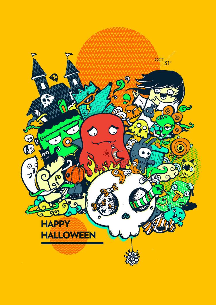 Borish Halloween Party by goenz