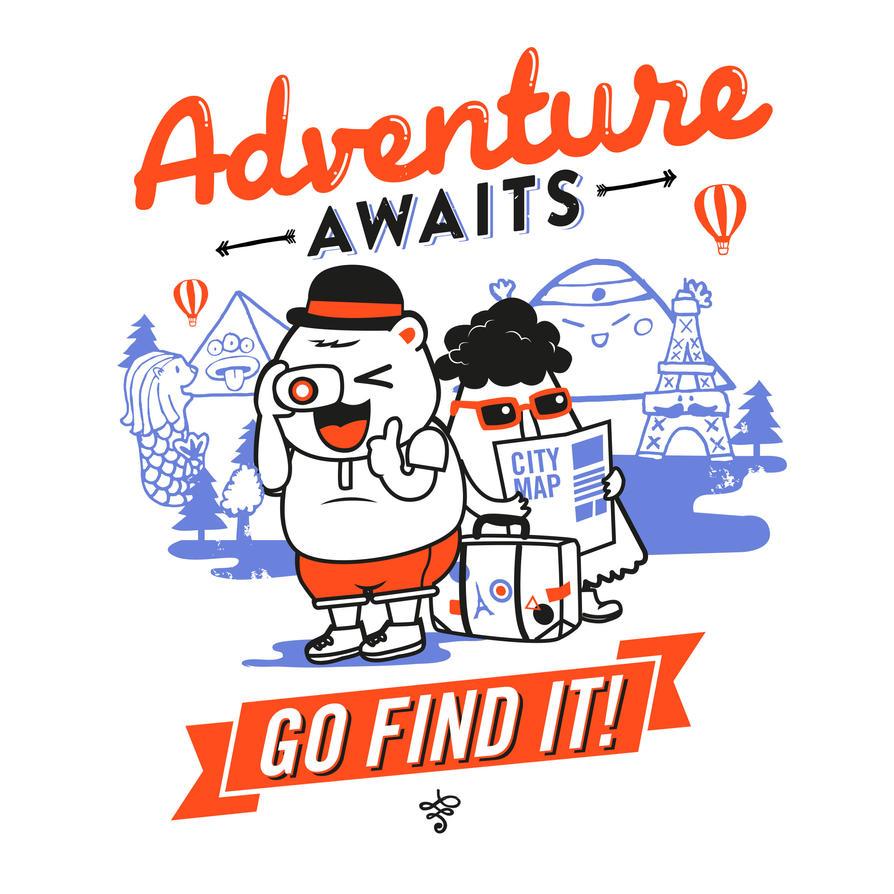 Adventure Awaits! by goenz