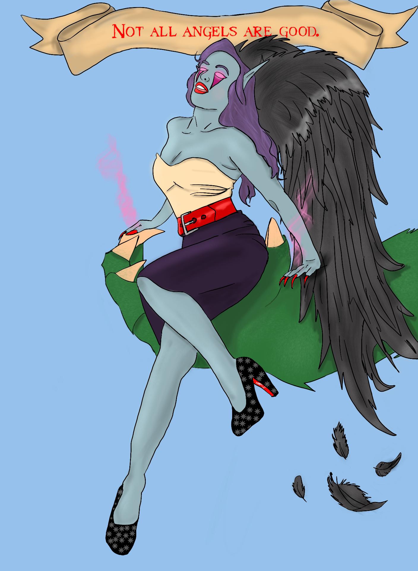Morgana Pinup