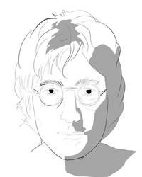 John Lennon sketch by Useperous