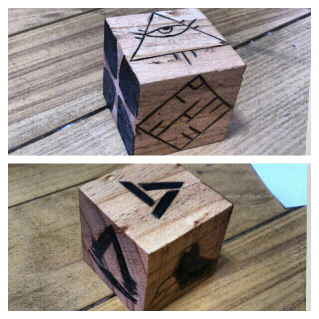 Assassin's creed cube by chui92