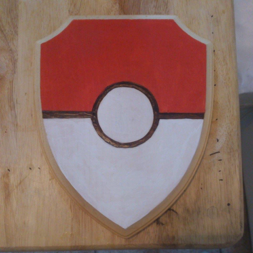 Pokeball shield by chui92