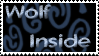 Wolf Inside stamp