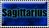 Sagittarius stamp by RonTheWolf