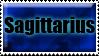 Sagittarius stamp by RonTheWolf