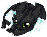 Night Fury Chibi