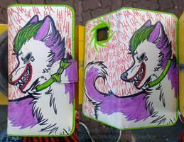 Joker Wolf Flipcase