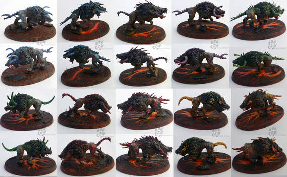 Chaos Warhounds Sideview