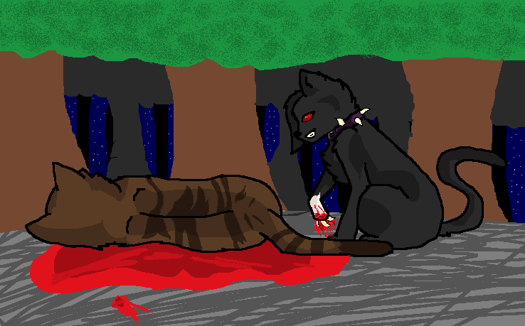 Tigerstar's Death by ARTISTFUNtomlinson