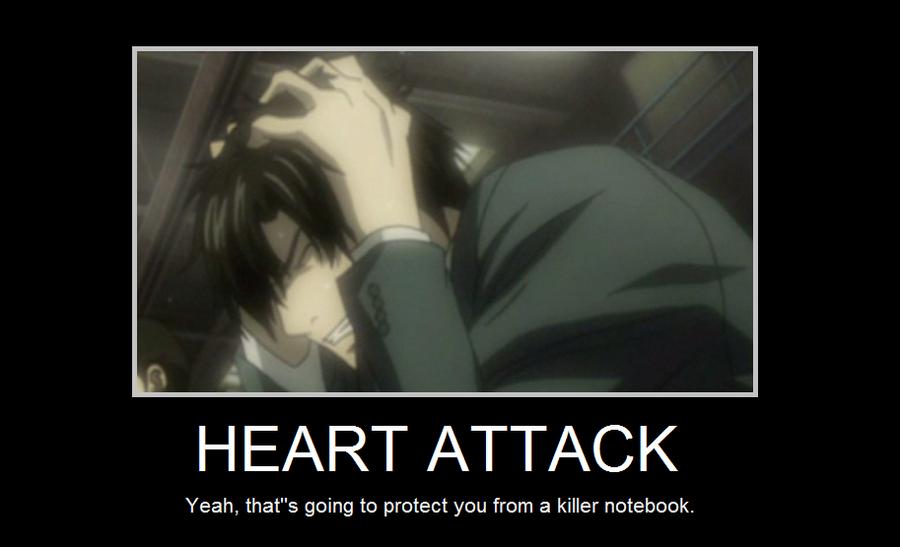 Death note heart...L Lawliet Standing