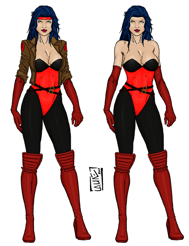 Sersi 90's Avengers by Narysh