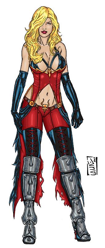 Hellina - Boundless Comics by Narysh