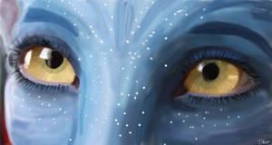 Neytiri eyes