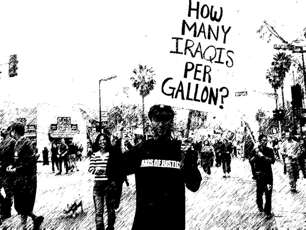 How many iraqi's per gallon? by Renegade-X2