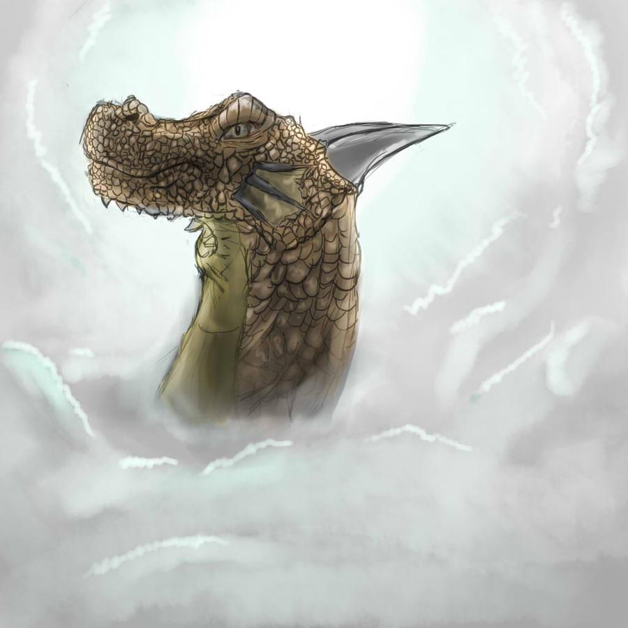 Dragon by arandomguy1221