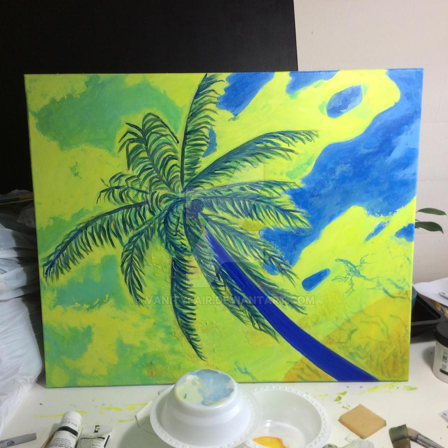 WIP: Coconut Palm by vanityfair